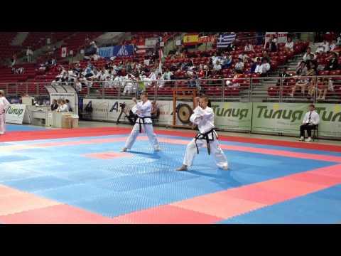 world championship Sofia, Bulgaria 2013... PR v South Africa patterns 4th Degree Male