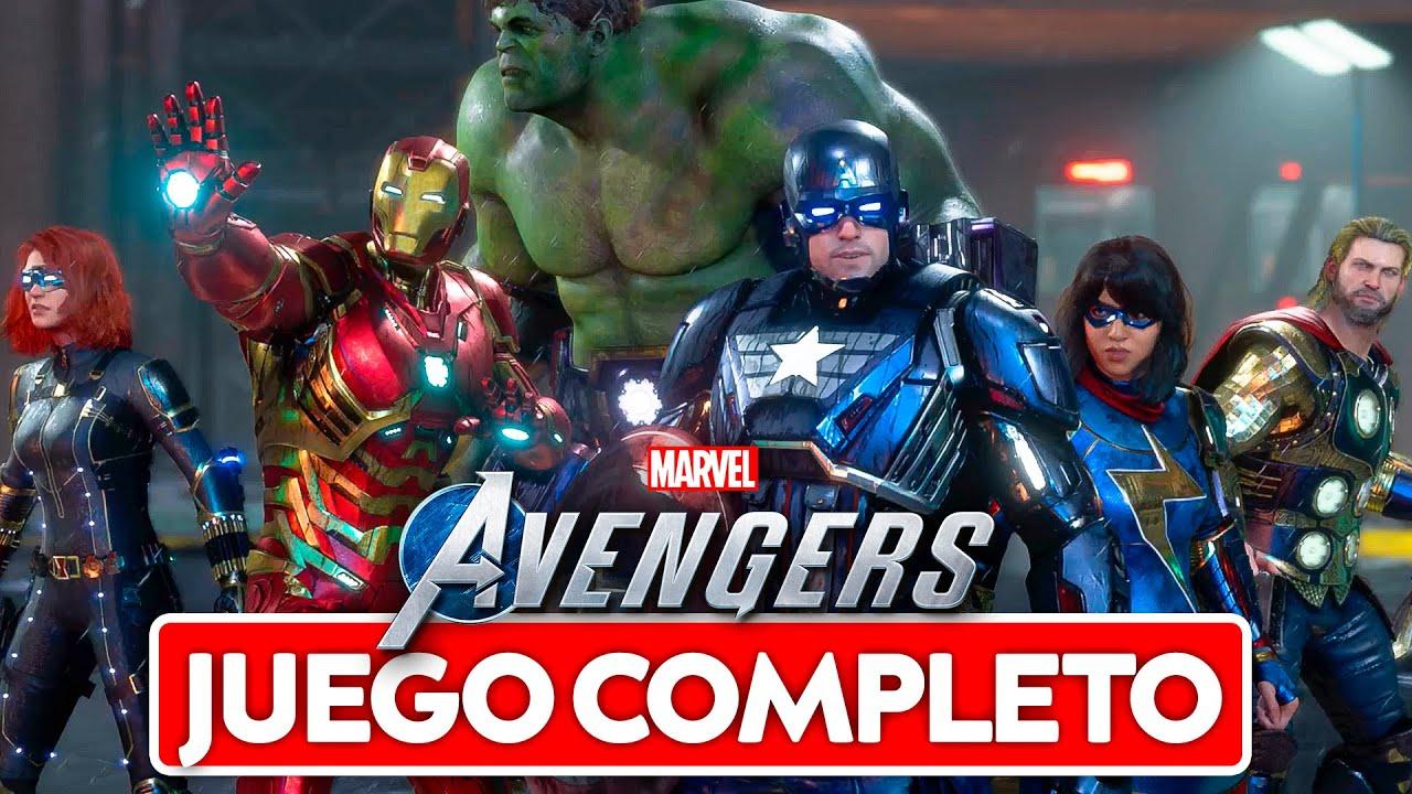 Marvel Avengers Pelicula Completa LATINO - PS4 PRO 60 Fps