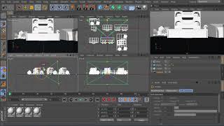80. Про камеру Cinema 4D: Практика. Комплексный урок по методам управления камерой. (старый урок)