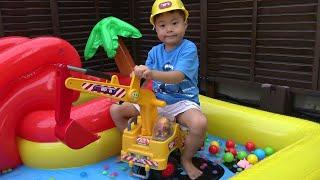 アンパンマン ショベルカー NEW元気シャベルカー プール 水遊び おもちゃ こうくんねみちゃん