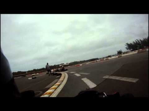 Go Pro Karting Video Bermuda Apr 1 2012