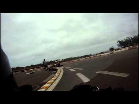 Go Pro Karting Video Bermuda Apr 1 2012