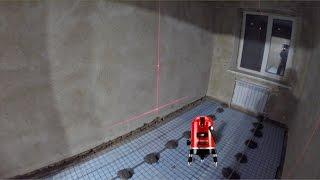 Частный дом - ремонт день #118 Приехал лазерный уровень установка маяков для стяжки(Частный дом - ремонт день #118 Приехал лазерный уровень установка маяков для стяжки Лазерный уровень: https://goo.gl..., 2016-12-16T23:00:11.000Z)
