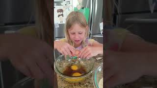 Girls Make Chocolate Chip Cookies Without An Adult Part 1