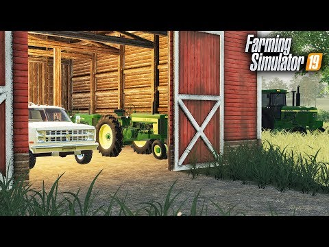 FS19- BARN FINDS! BUYING AN OLD FARM FULL OF ANTIQUE TRACTORS thumbnail