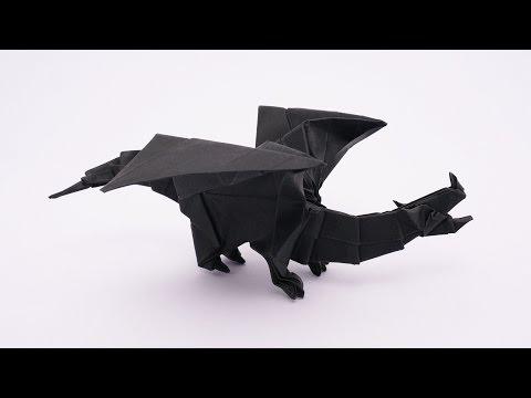 origami dragon v2 jo nakashima dragon 9 funnydogtv