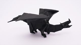 Origami Devil Dragon v2 (Jo Nakashima) - Dragon #10