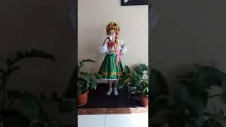 """Пісня """"Я маленька україночка"""", Глянь Катерина, сольний вокал"""