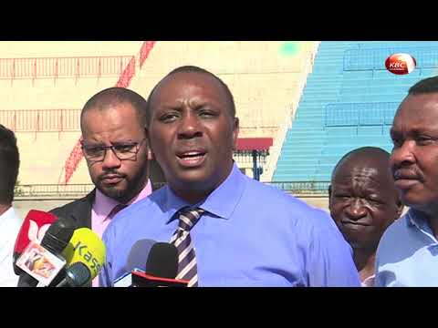 Sports PS issues deadline for completion of Nyayo stadium