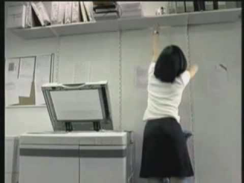 Funny Video - Photocopying my ................................