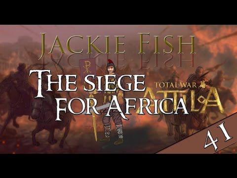 Total War: Attila - Western Roman Empire #41 The siege For Africa (VH/VH)