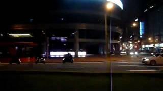 【臺灣】台北聯營公車262路線車景 南京敦化路口~頂好市場 Taipei bus ride