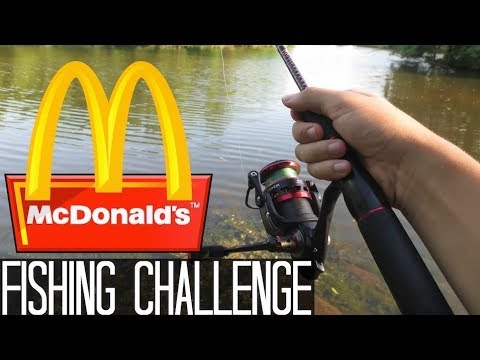 McDonald's Fishing Challenge! Caught My First Snakehead Fish!!
