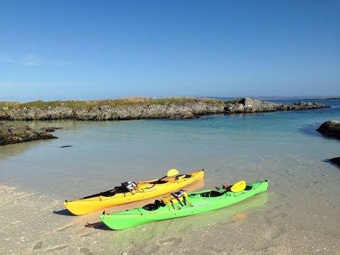 Sea Kayaking Arisaig and Loch Moidart - 2014