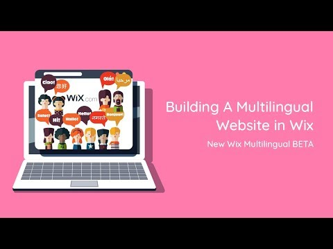 Building A Multilingual Website in Wix - New Wix Multilingual BETA