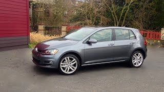 2015 Volkswagen Golf TSI SEL Car Review
