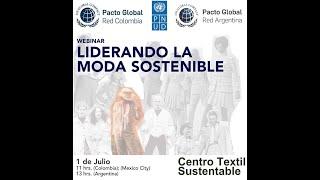 Webinar: Liderando la Moda Sostenible