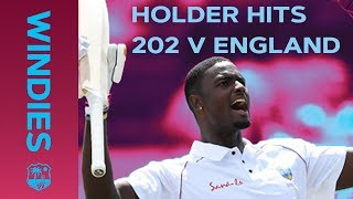 Jason Holder Hits RECORD 202 Against England | Windies v England