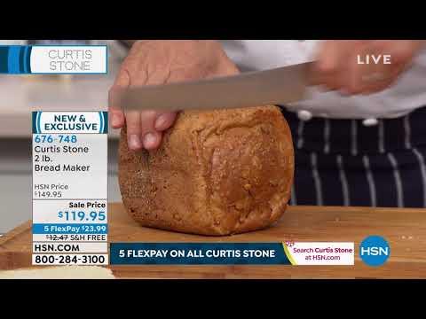 Curtis Stone 2lb. Bread Maker
