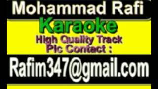 Roka Kai Baar Maine Dil Ki Karaoke Mere Sanam 1965 Rafi
