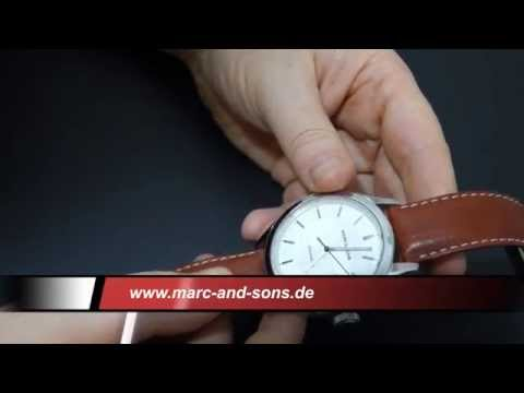 MARC & SONS Automatik Herrenuhr MSK-002   Armbanduhr Clock Watch ETA 2824-2
