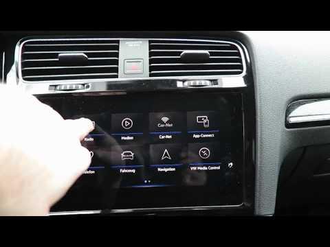 VW Golf 7: Radio und Media (Discover Pro)