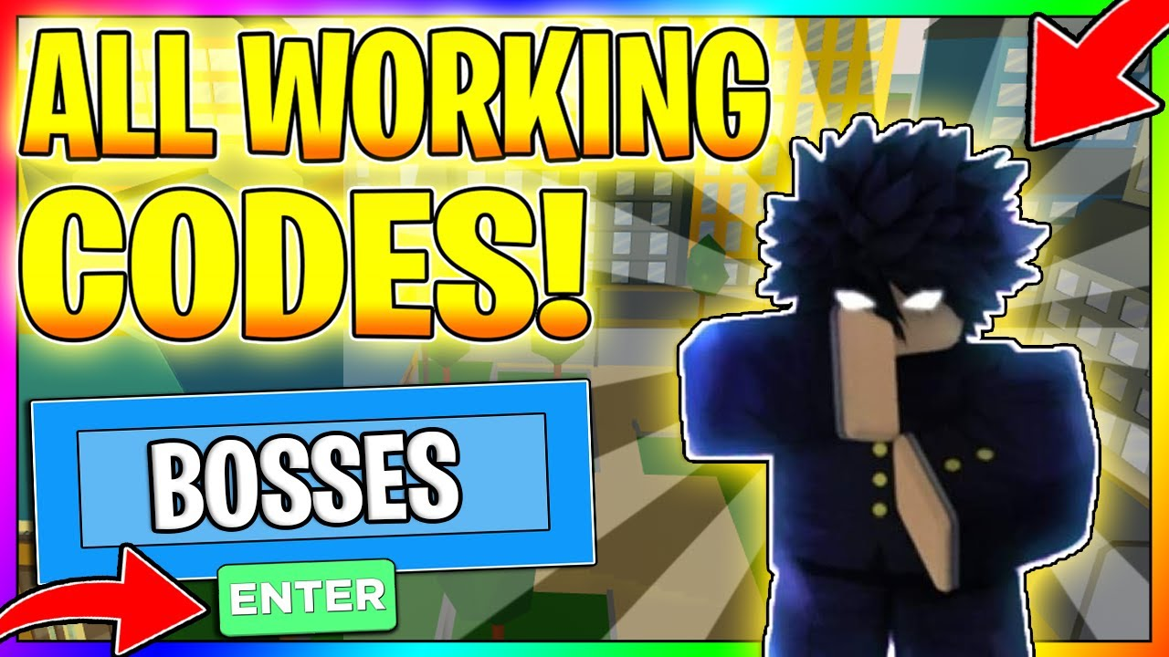 All New Anime Fighting Simulator Codes 2020 Bosses Roblox