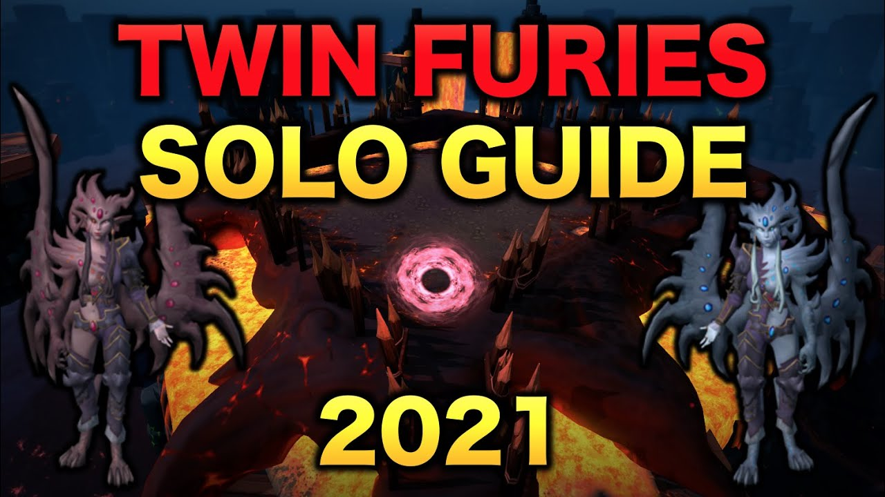Twin Furies Solo Guide 2021 | RuneScape 3