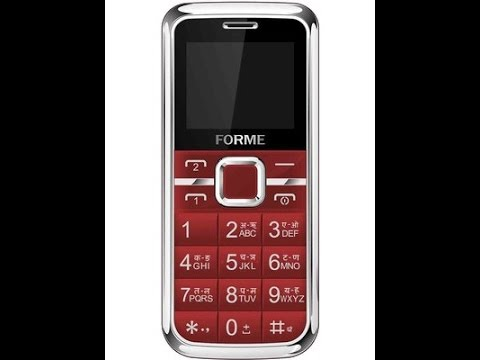 Forme Love One mobile phone for Seniors