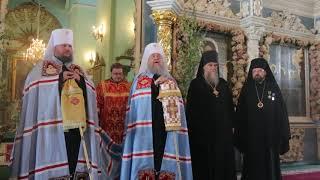 Слово митрополита Ферапонта и митрополита Александра в праздник 275-летия Костромской епархии.