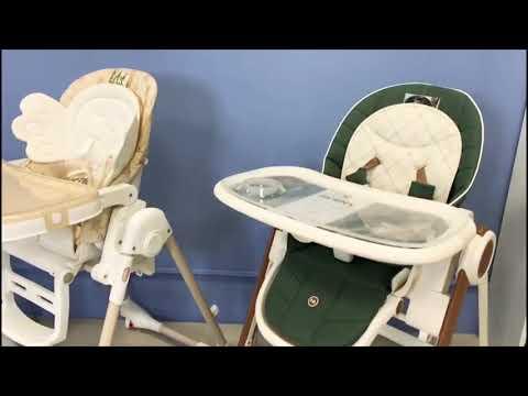 Обзор на стульчики для кормления Happy Baby и Oribel