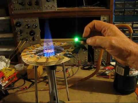 Copper Oxide Thermoelectric Generator Can Light Led Youtube