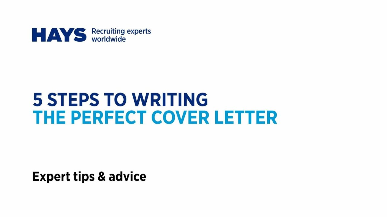 Steps To Creating The Perfect Cover Letter  Youtube