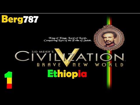 Civilization 5 | Lets Play Ethiopia | Deity | #1