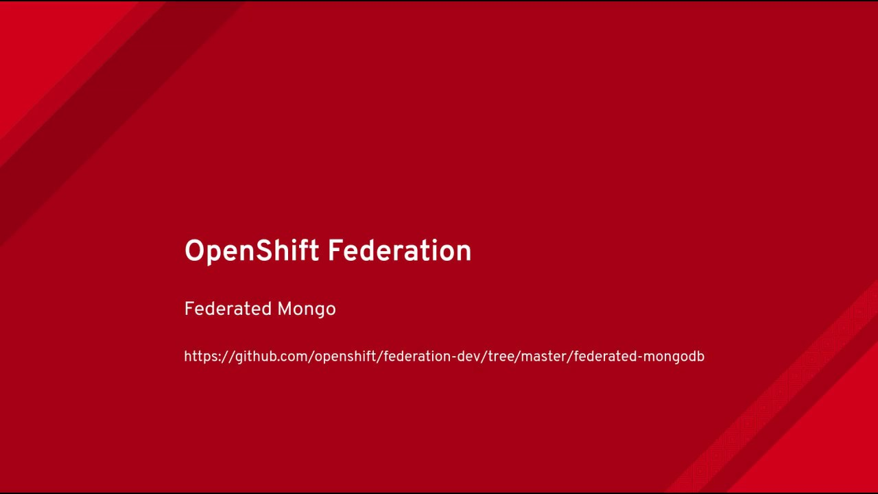 Federation V2 is now KubeFed – Red Hat OpenShift Blog