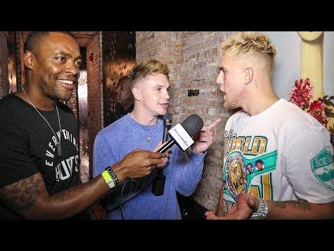 Joe Weller CONFRONTS Jake Paul BLOWS UP interview