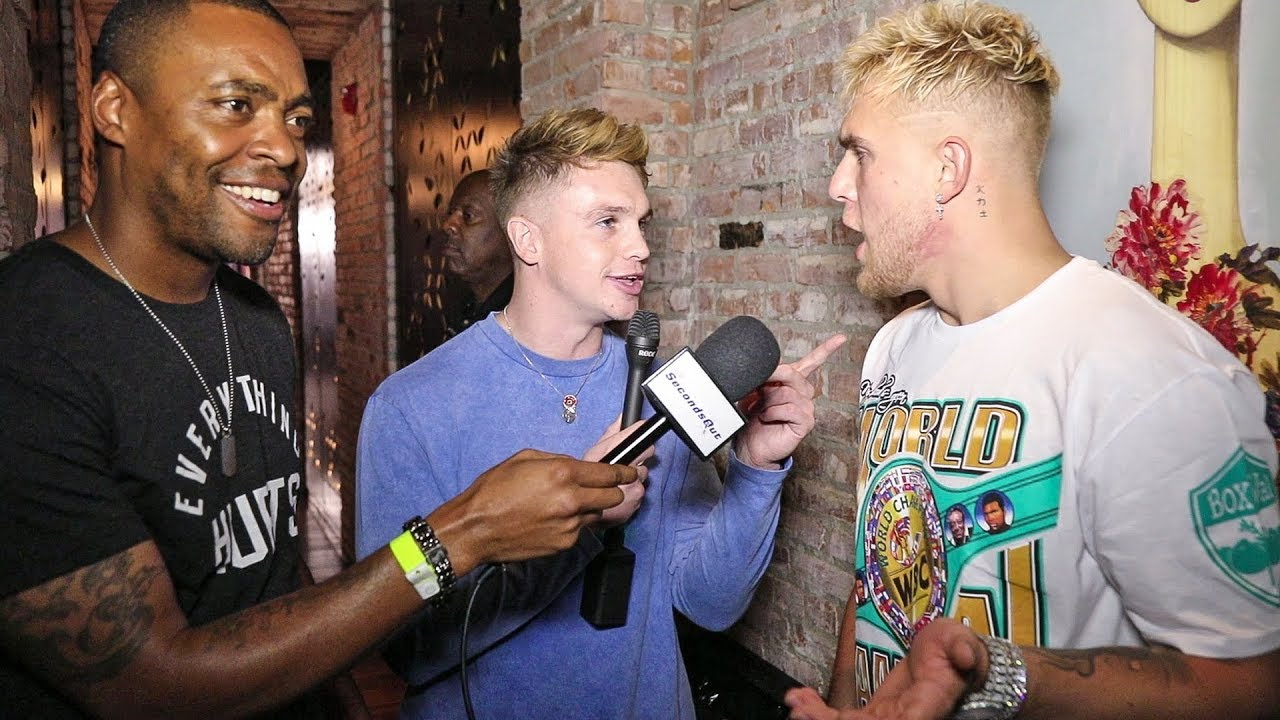 Joe Weller Confronts Jake Paul Blows Up Interview Youtube Or maybe joe weller will be like connor mcgregor. joe weller confronts jake paul blows up interview