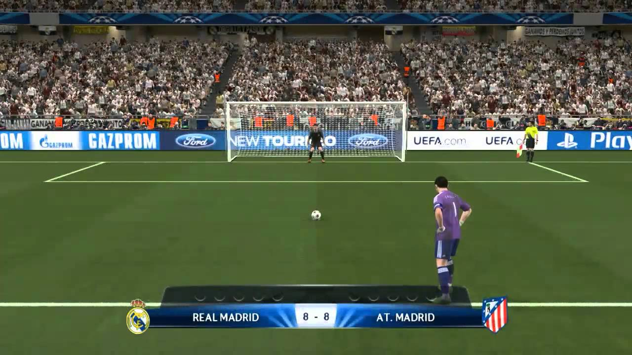 Longest Penalty Shootout Ever In Soccer Real Madrid vs ...