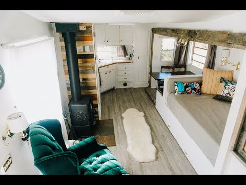 We Renovated a Fifth Wheel into our Off-Grid full-time Tiny Home