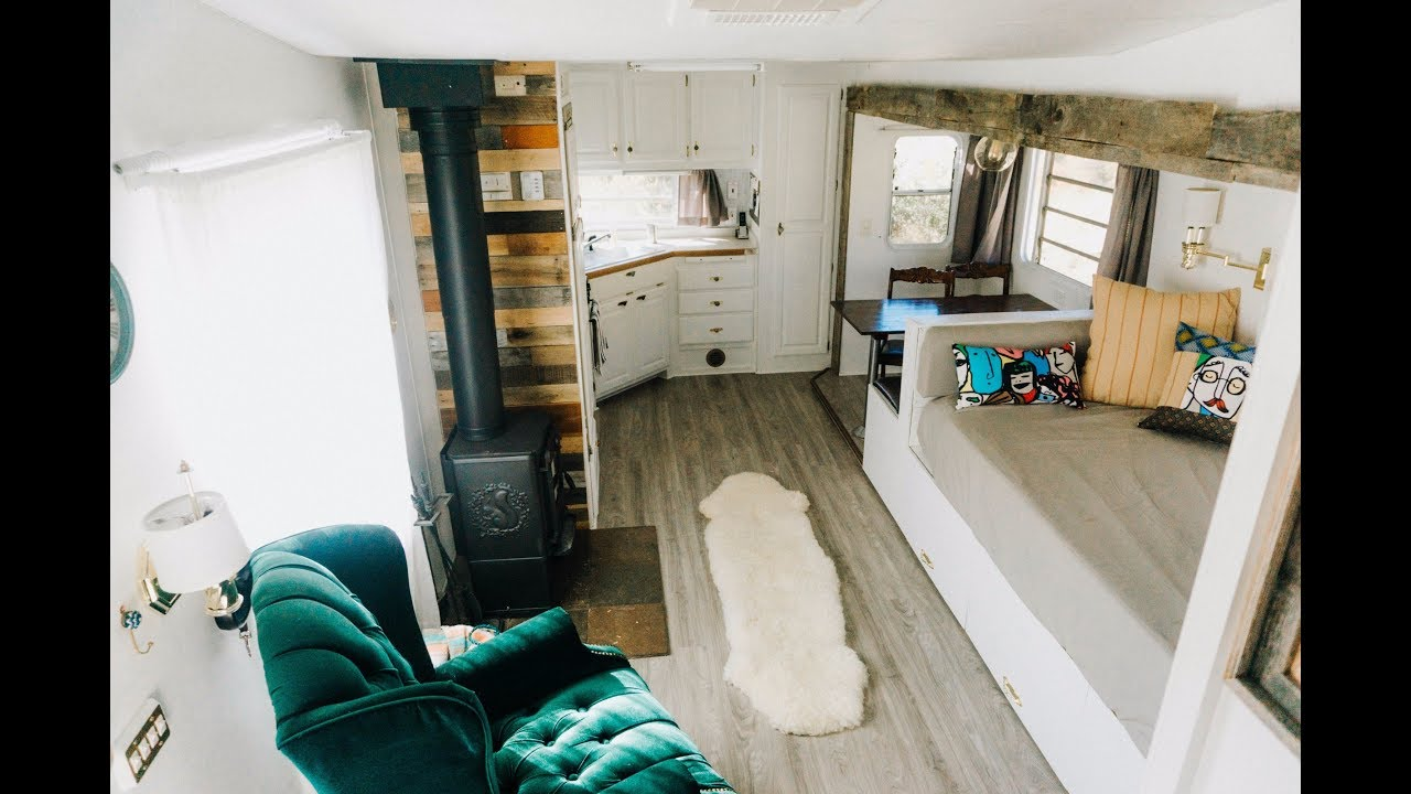 We Renovated A Fifth Wheel Into Our Off Grid Full Time