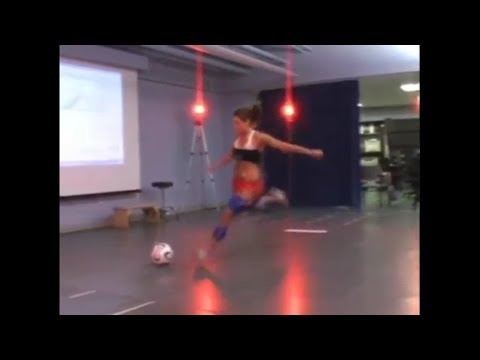 Motion Analysis Helps Soccer Players Get Their Kicks