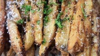 Lemon Pepper Wings | Homemade Fries | Potato Wedges