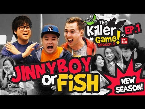 The Killer Game by Uniqlo S2EP1 - Who is the MVP, Jinnyboy or Fish?