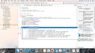 الهدف-C TCP Socket: الخطوة 3: إنشاء ملقم مأخذ الموضوع