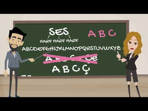 İngilizce Alfabe (Animasyonlu Düet Anlatım)