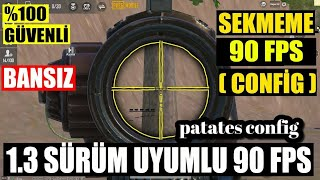 90 Fps Config Sekmeme Turbo Config Pubg Mobile 1 3 0 Youtube