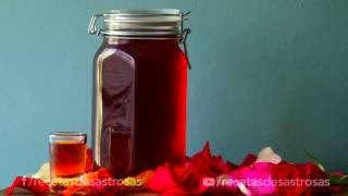 licor de rosas recetas desastrosas