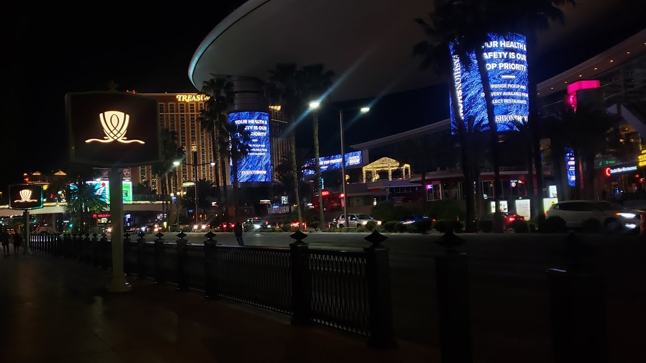 Exploring the Las Vegas Strip on a Saturday Night