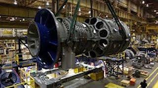 GE 발전용 가스터빈 제조 현장 속으로 | Buildi…