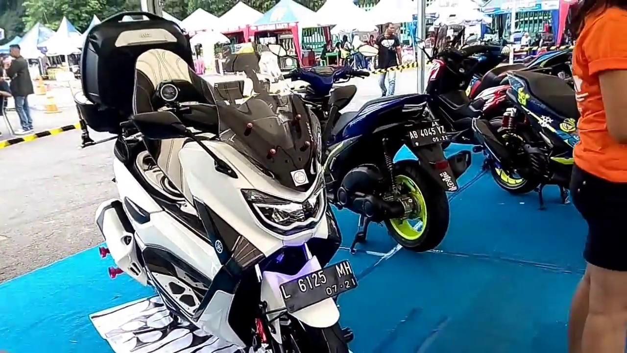 Nyobain yamaha TMAX 530 cc dalam maxi day di stadion mandala krida jogja